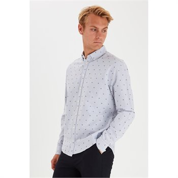 CASUAL FRIDAY - anton bd ls shirt 20503512