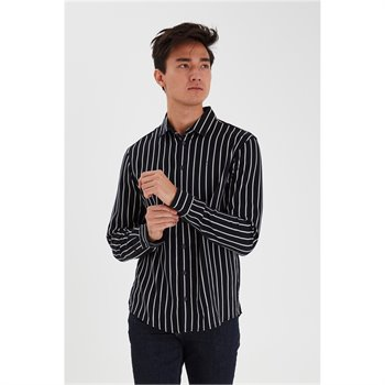 CASUAL FRIDAY - anton bu ls striped shirt 20503778