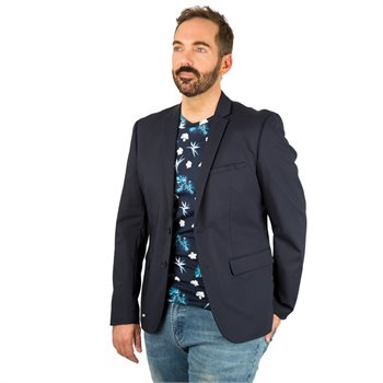 CASUAL FRIDAY - blazer slim fit Small Marine