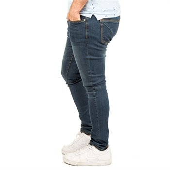KUWALLA - essential skinny denim dark blue