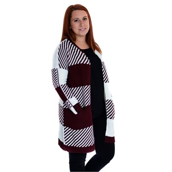 ONLY - kasey l/s long cardigan Small Imprimé