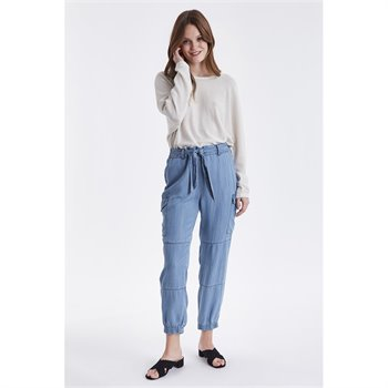 B.YOUNG - lana cargo pants Large Bleu