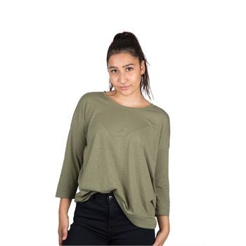NOISY MAY - mathilde 3/4 sleeve straght top