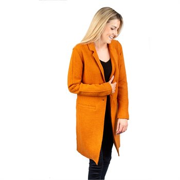 ONLY - new ella wool coat Large rouille