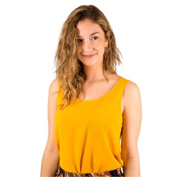 ONLY - nova lux top cami Large Jaune