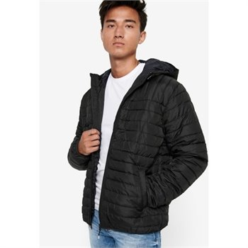 ONLY&SONS - paul quilted hood jacket