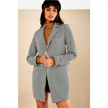 ONLY - selena check wool coat