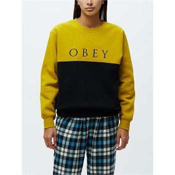 OBEY - sonora crew specialty Large moutarde