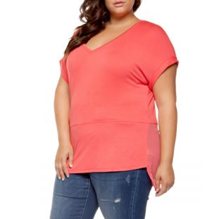 DEX PLUS - t shirt v neck 1274187